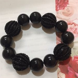 Stretch bracelet black